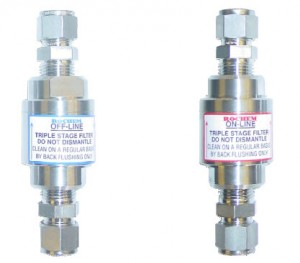 Filter for system nozzles