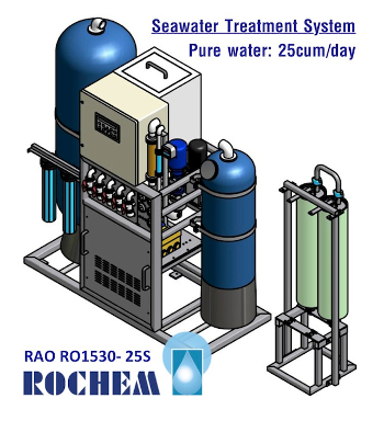 ROCHEM RO SEAWATER TREATMENT